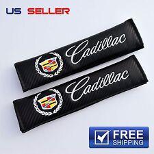 CADILLAC SHOULDER PADS SEAT BELT CARBON FIBER 2PCS SC03