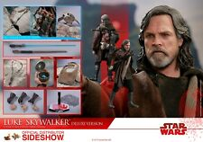 Luke Skywalker Hot Toys Deluxe Version The Last Jedi Figure