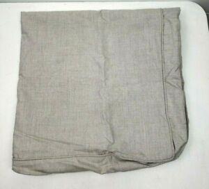 "New Pottery Barn Torrey Sectional ottoman Cushion Slipcover Sunbrella Gray 36"""