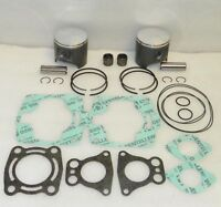 Polaris SL SLH SLT 700 Top End Rebuild Kit Pistons Gaskets Bearings Stock 81mm