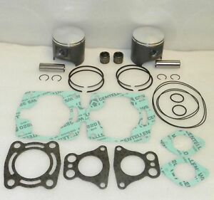 2002 Polaris Freedom 700 Top End Rebuild Kit Pistons Gaskets Bearings Stock 81mm