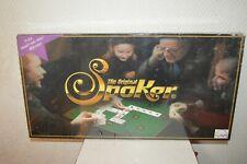 JEU THE ORIGINAL SPOKER NEUF SCELLER  VINTAGE 1999 by LUDAPI  POKER