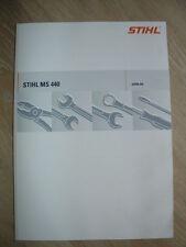 Stihl Reparaturanleitung  MS 440 verwendbar auch für 044, 046 und MS 460