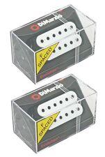 DiMarzio F spaced Evolution Neck & Bridge Humbucker Set White