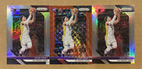 (3) 2018 JOSH HART PANINI PRIZM ROOKIE RC SILVER RUBY WAVE REFRACTOR LOT #46