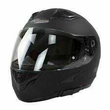 NITRO N2300 Full Face Moto Casco de Motocicleta-Negro mate Tamaño XX-grande