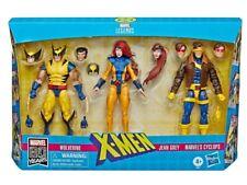 Marvel Leyendas X-men 3 Pack Cíclope, Jean Grey & Wolverine Figura De Acción