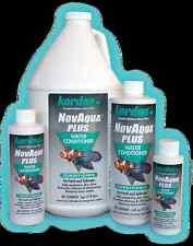 KORDON NOVA AQUA PLUS 250ML 8OZ TAP WATER CONDITIONER FOR AQUARIUMS PONDS