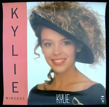 Kylie Minogue Kylie Debut Lp Promo Poster Mint- 1988 Very Nice Original!