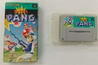 SUPER PANG With BOX   Nintendo Super Famicom japanese  SFC SNES Japan USED