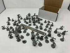 "Bulk 80 pieces D&D Monster Minis - 1"" Base 28mm Scale Unpainted DnD"