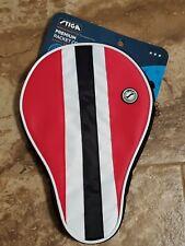 NEW Stiga Table Tennis Racket Cover Red White  & Black Premium PING PONG