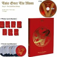 Official WayV 威神V NCT China WAY V 2nd Mini Album Take Over The Moon CD Fans