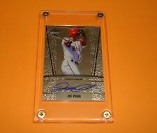 2011 Autographed Leaf Metal Draft # AU-JP3 San Francisco Giants JOE PANIK Rookie