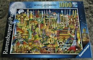 Ravensburger 1000 Piece Jigsaw 'World Landmarks by Night'