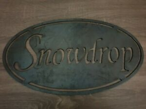 LARGE METAL MODERN HOUSE NAME SIGN PODS GLAMPING LODGE SIGN PERSONALSED PLAQUE