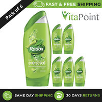 RADOX FEEL ENERGISED PEPPERMINT & KEYLIME SHOWER GEL 250ML x6