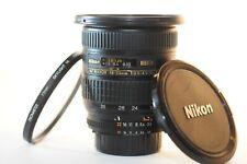 Nikon ED AF Nikkor 18-35mm 3.5-4.5 D FX lens NICE for F100 D7500 DF D850 D500 D5