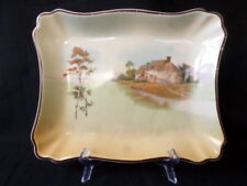 Royal Doulton. D4957. English Country Cottage Scene. Rectangular Plate.