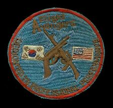 USAF 51st Security Police Avenger Flight Korea Osan Patch RP-1