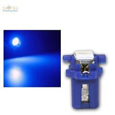 10 x LED B8.3D BAX10s T5 Birne blau Tachobeleuchtung Instrumentenbeleuchtung SMD