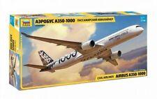 Zvezda 7020 Civil Airliner Airbus A350-1000 1/144