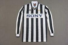 1995-97 Kappa Juventus Turin Home Shirt JUVE ITALIA No. 9 Vialli-Boksic SIZE XL