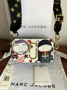 Genuine MARC JACOBS ANNA SUI Collaboration Snapshot Small Camera Bag hot sales..