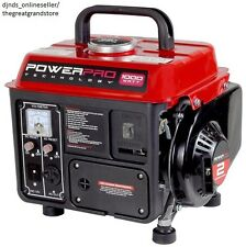 Quiet Portable Generators Emergency Light Camping Electricity Small Power Cabin