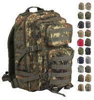 NEU US Assault Tactical LARGE Rucksack MOLLE 36 Liter PACK LG BW Trekking