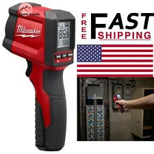 Milwaukee Laser Temperature Thermometer Gun Infrared 10:1 LCD Display Hand Tool