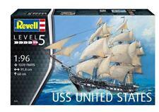 REVELL KIT 1:96 IN PLASTICA NAVE DA GUERRA USS UNITED STATES 91,8 CM  ART 05606