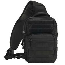 Brandit US Cooper Every Day Carry EDC Sling Backpack Rucksack Daysack Bag Black