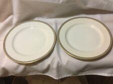 "(2) H & C Selb Bavaria Heinrich HC9 Dinner Plates 9.75"""