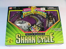 Mighty Morphin Power Rangers - White Ranger?s Shark Cycle MIB