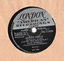 "Fats Domino - Honey Chile 10"" Single 1957 / 78 rpm"