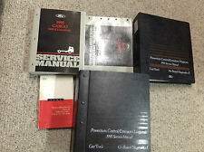 1995 FORD CARGO TRUCK VAN Service Shop Repair Manual Set W EVERYTHING PCED EWD