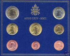 BU VATICAN 2002 8 pièces EURO  Vatikan Vaticano