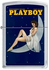 Zippo Playboy December 1973 Cover Satin Chrome Windproof Lighter NEW RARE