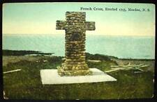 Antique Unused Postcard French Cross Morden Nova Scotia NS