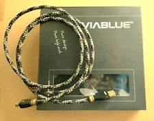 Hochwertiges Viablue KR-2 USB Kabel 2.0 A/B 150cm für anspruchsvolles HiFi Audio