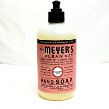 Mrs Meyers Clean Day Liquid Hand Soap Olive Oil Aloe Vera Rosemary Scent 12.5 oz