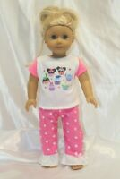 Dress Outfit fits 18 inch American Girl Doll Clothes Lot Cupcakes