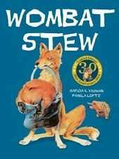 Wombat Stew by Marcia Vaughan Paperback, 2017 Children's Picture Story Book SM