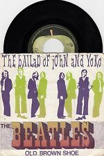 "THE BEATLES THE BALLAD OF JOHN AND YOKO RARE 1969 RECORD NETHERLANDS 7"" PS"