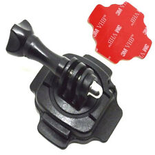 360 Degree Rotating Helmet Mount Bracket Stand For GoPro HD & Hero 1 2 3 3+ 4