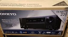 NEW Onkyo TX-NR777 7.2CH Network A/V Receiver, Built-In Wi-Fi & Bluetooth
