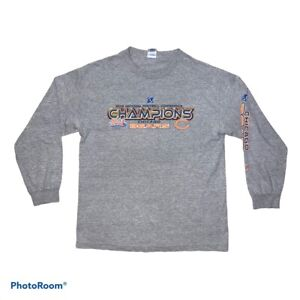 Chicago Bears NFL football t-shirt Gray 2006 Conference NFC Champions Large