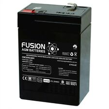 6v 6Ah PREMIUM AGM DEEP CYCLE BATTERY same as 6v4Ah/4.5Ah/5Ah