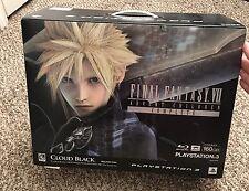 Final Fantasy VII Advent Children Limited CLOUD BLACK PS3 Bundle US SELLER